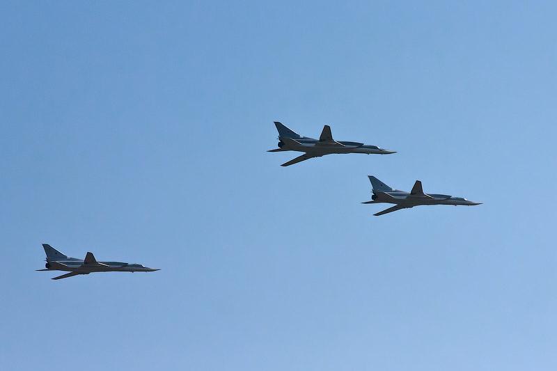 Самолёты над Зеленоградом