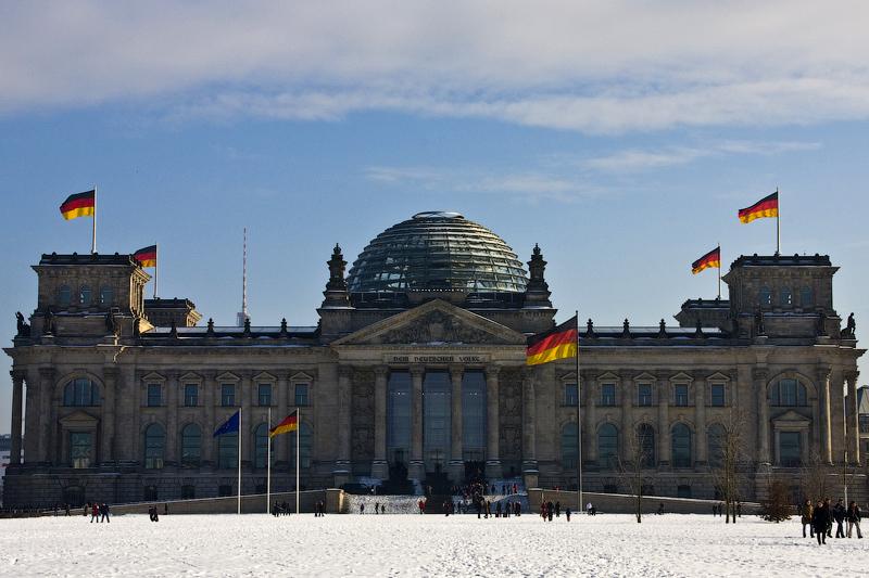 Германия. Рейхстаг. Наши дни