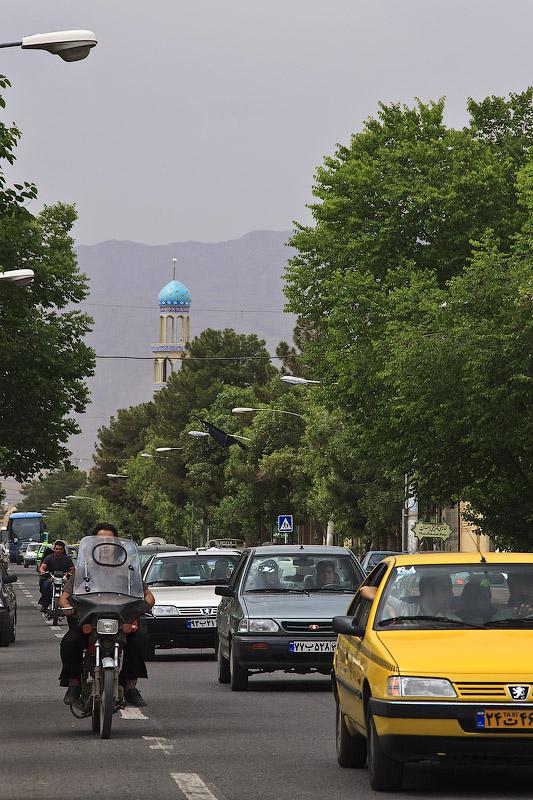 Иран, улица в Кашане