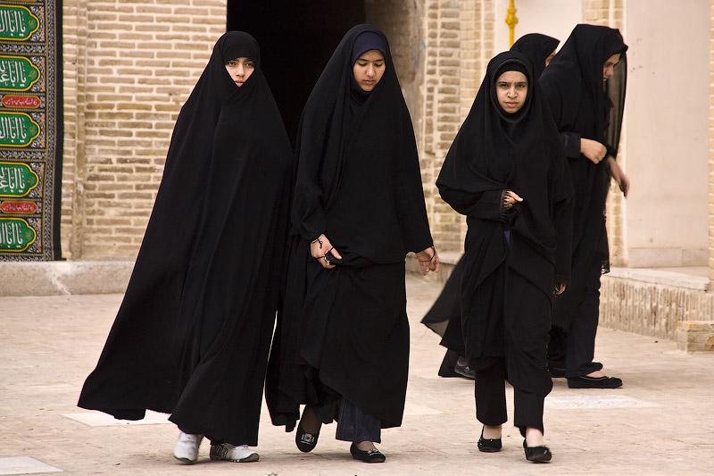 Чёрные иранские женщины