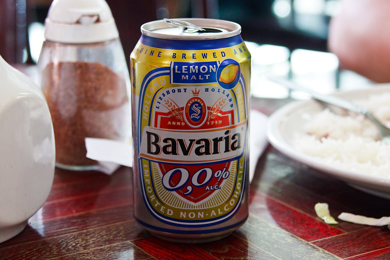 Bavaria lemon beer