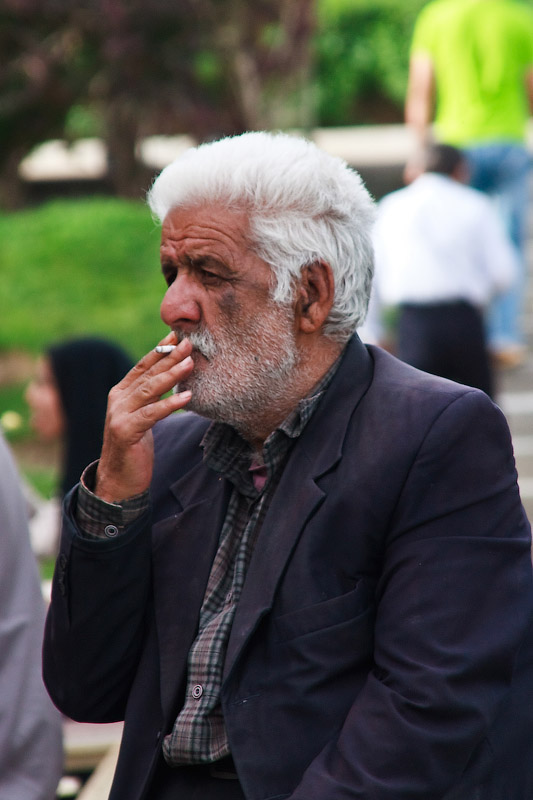 Старый курильщик